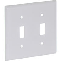 Two Gang Wall Switch Wall Plate - Standard